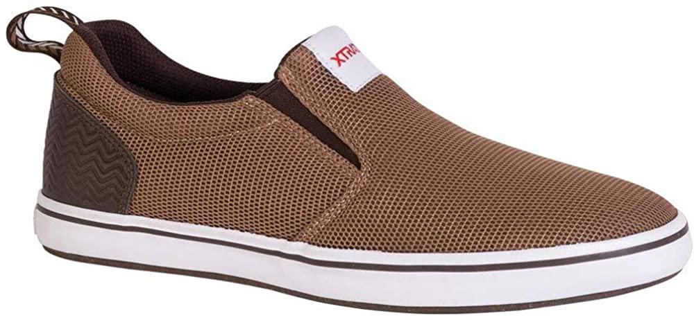Xtratuf Sharkbyte Airmesh Slip-On Shoes for Men, Brown