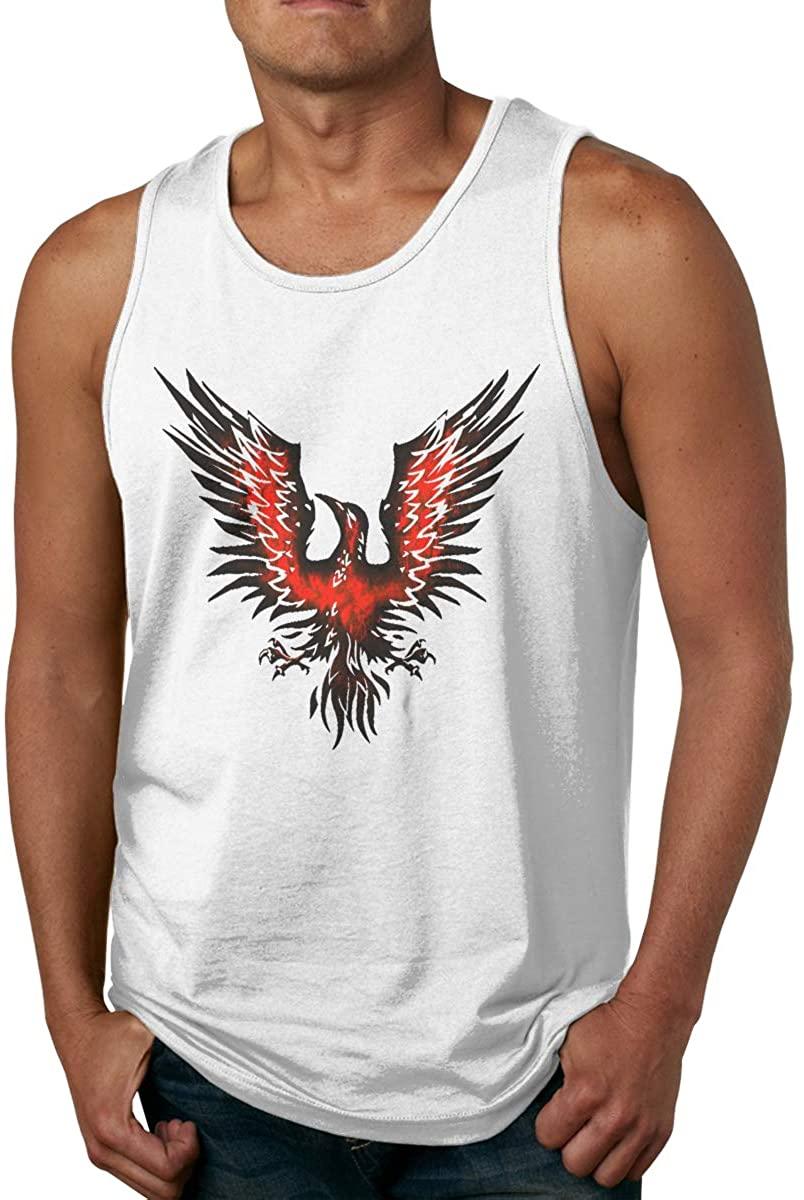 ZiAntg Alter Bridge Blackbird Men Tank Tops Summer Sleeveless Graphic Vest Shirts White