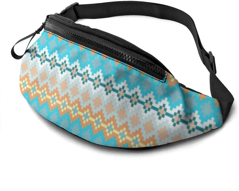 Ocean Stars Fanny Pack For Men Women Waist Pack Bag With Headphone Jack And Zipper Pockets Adjustable Straps