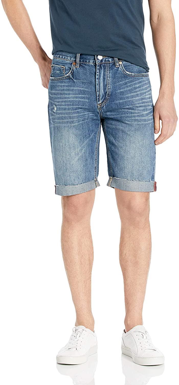 [BLANKNYC] Mens Denim Short Shorts, Hotel beds