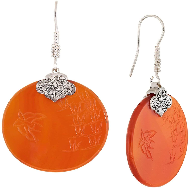 Museum of Jewelry: Vintage 1970s Shashi Carnelian Butterfly Lovers Earrings