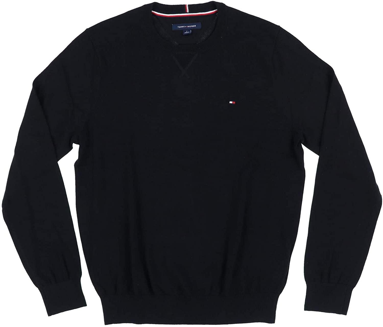 Tommy Hilfiger Mens Crew Neck Sweater