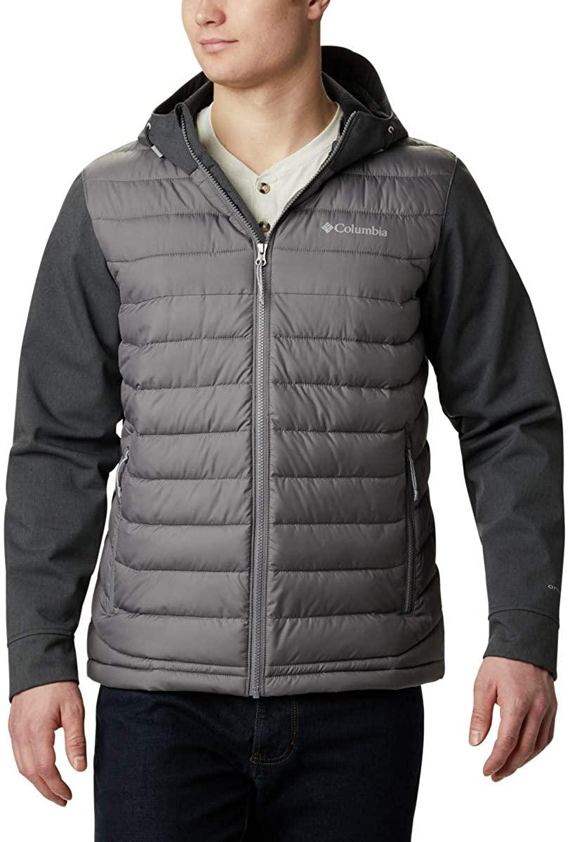Columbia Mens Powder Lite Hybrid Jacket