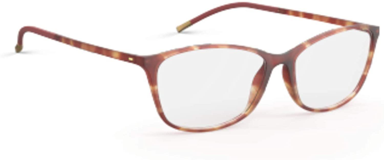 Eyeglasses Silhouette SPX Illusion Full Rim 1563 6116 Havanna Marsala 53/14/130