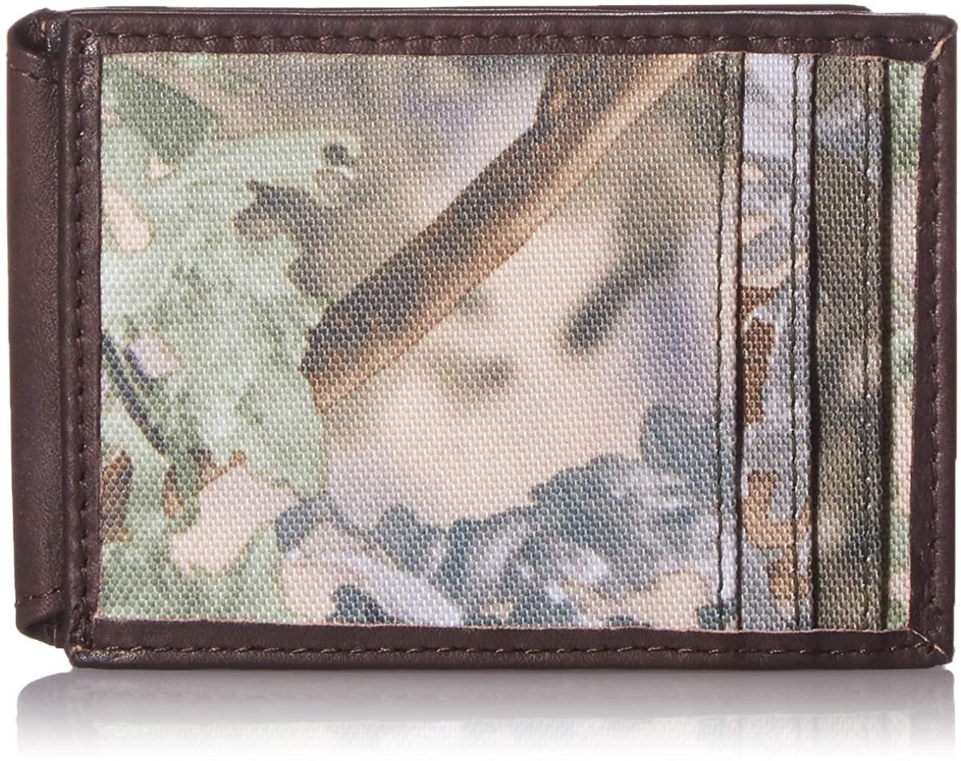 Weber's King's Camo- Men's ID Front Pocket Wallet