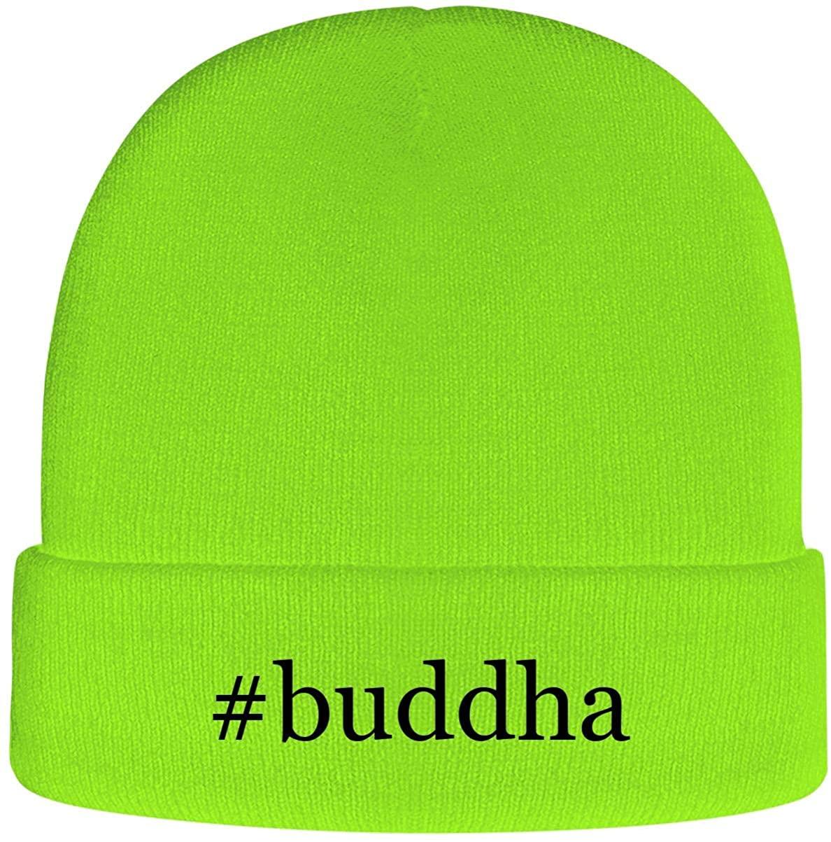One Legging it Around #Buddha - Hashtag Soft Adult Beanie Cap