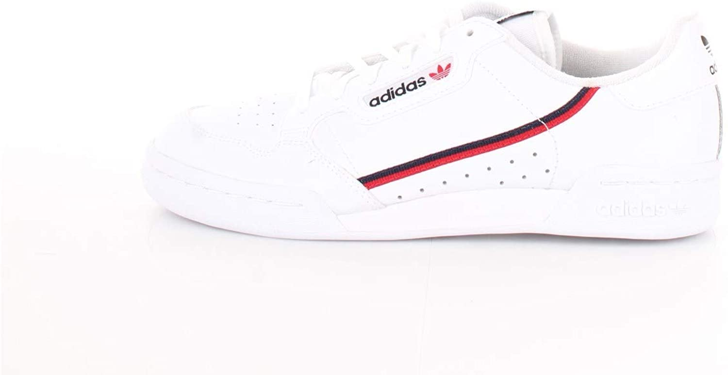 adidas - Continental 80 - F99787 - Color: White - Size: 4 Big Kid