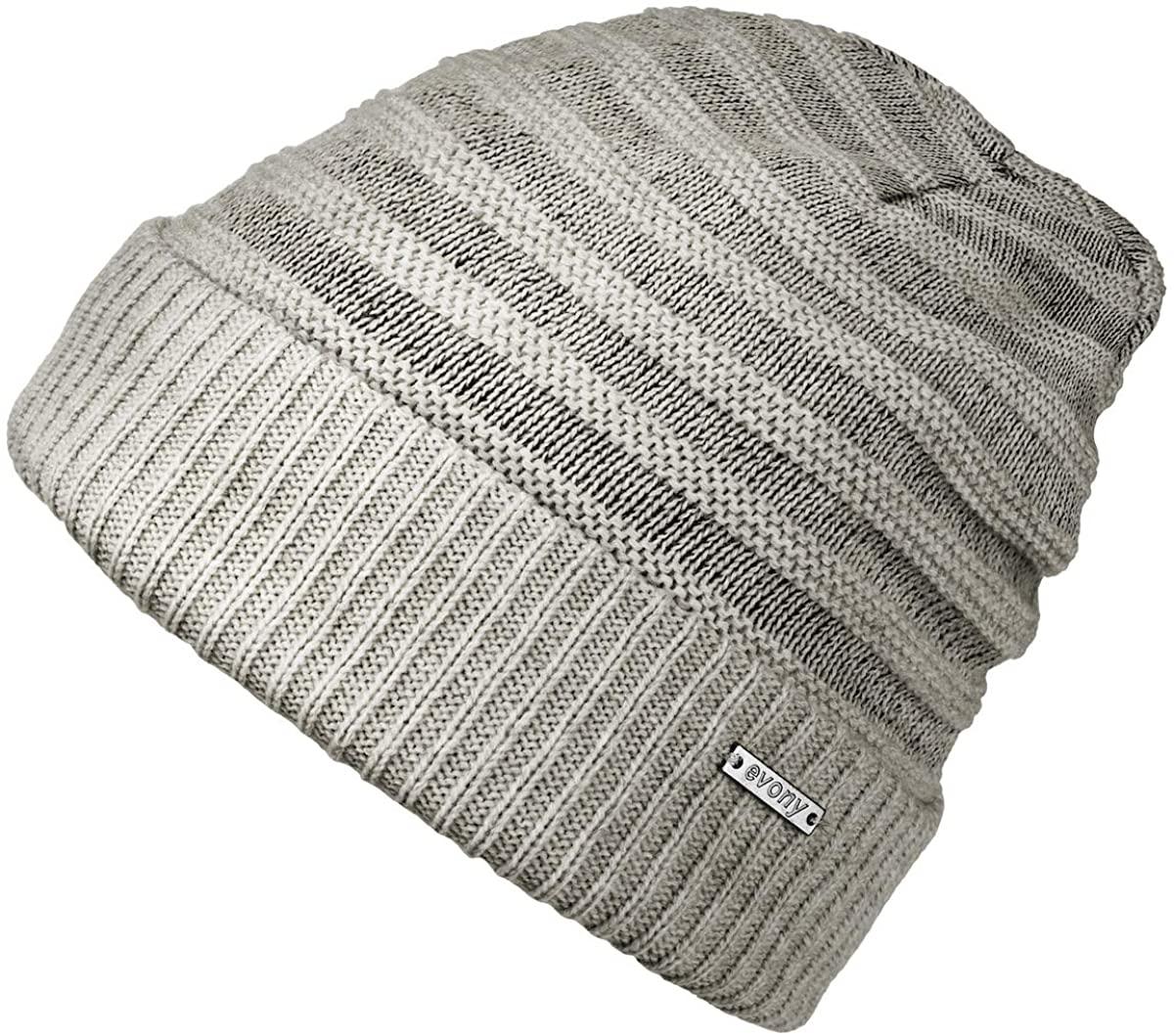 Revony Cuffed Beanie Hat - Warm Fleece Band Inside The hat - BE16