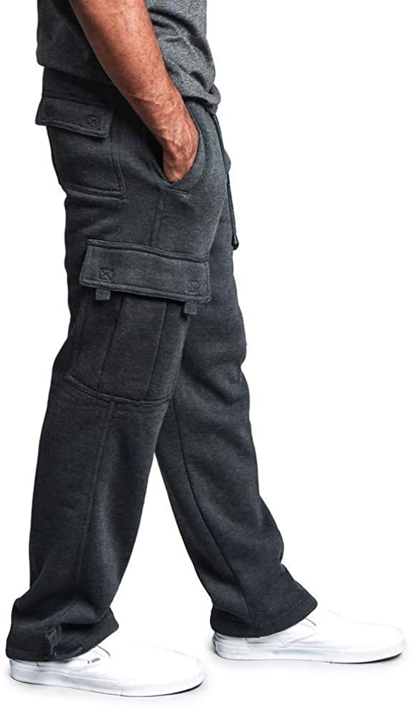 Men's Casual Cargo Pants - MorwebVeo Casual Sweatpants Lightweight Loose Fit Pants for Men