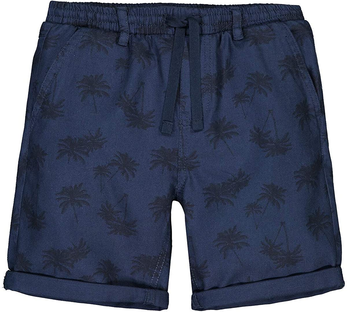 La Redoute Collection Cotton Bermuda Shorts in Palm Tree Print, 3-12 Years