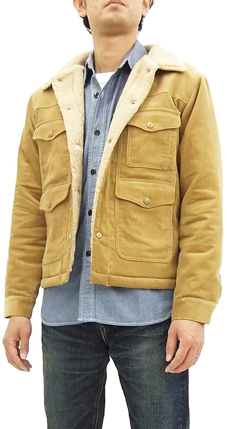 Pherrow's Men's Corduroy Short Ranch Sherpa Jacket 16W-PMRJ1