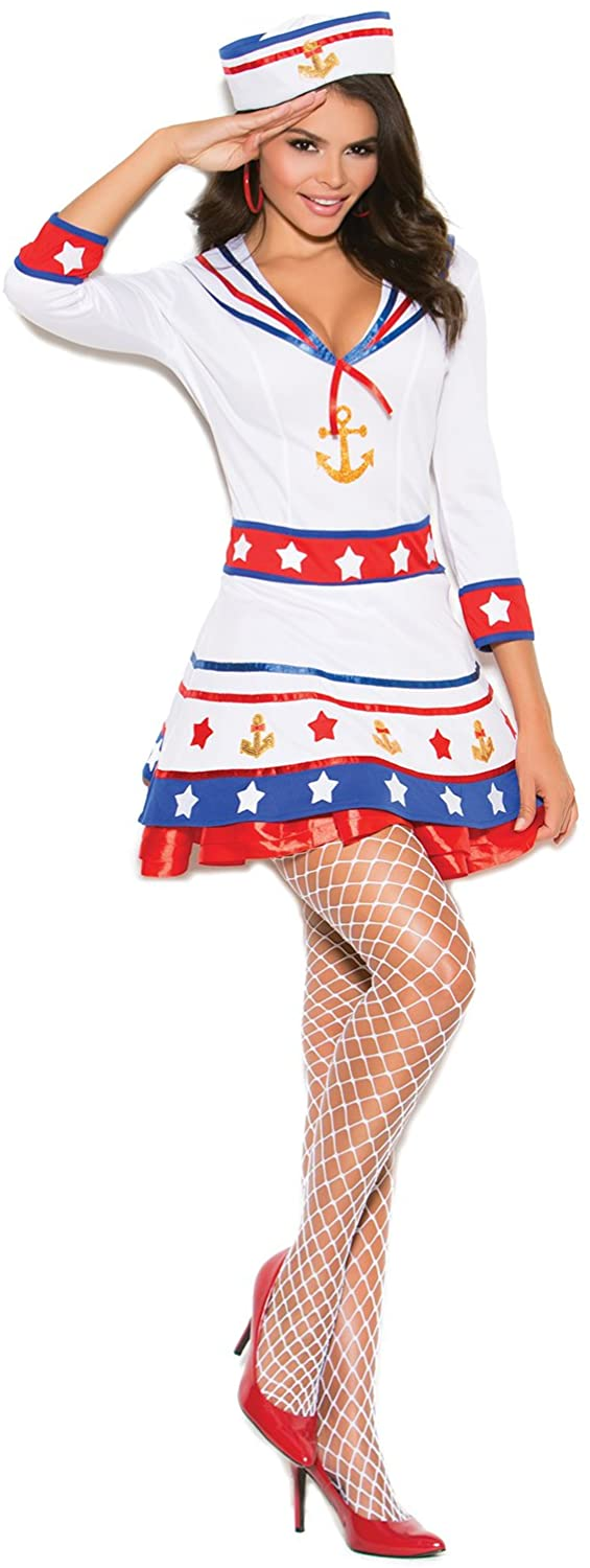 Hot Spot Women's Sexy Sailor Adult Role Play Costume