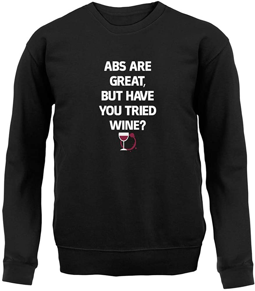 Abs are Great, But. Wine - Unisex Crewneck Sweater/Jumper
