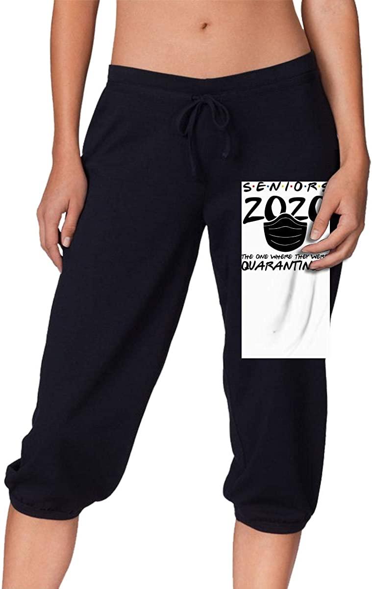 Xiongminqing Class of 2020 Quarantined Seniors Womens Comfort Soft Pants