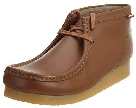 CLARKS [Stinson HI-13633] Premium Crepe Mens Shoes CLARKSTAN Leather Cuir BRUNM