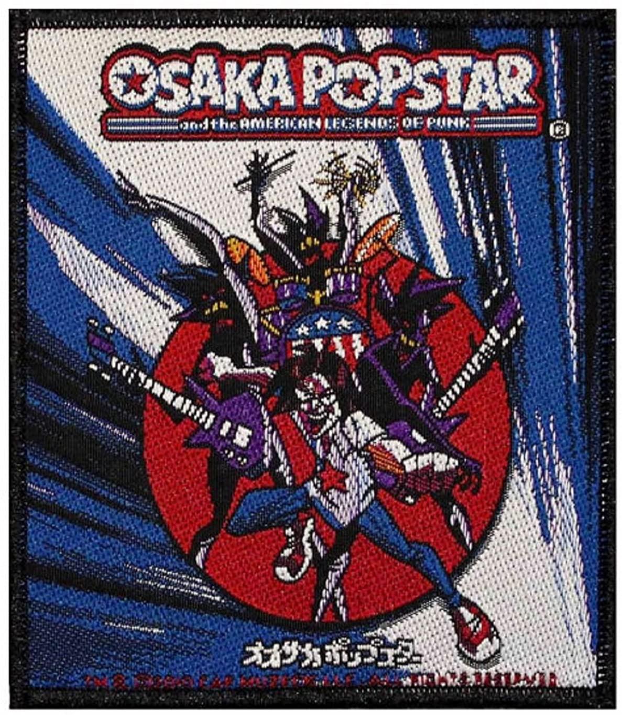 Osaka Popstar Men's American Legends Of Punk Woven Patch Black