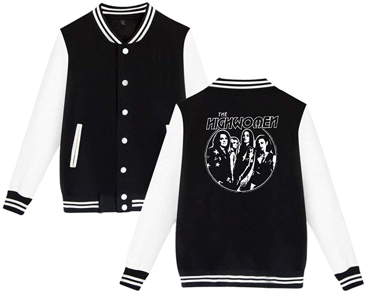GOOANGUS The Highwomen Album Package Unisex Baseball Jacket Varsity Jacket Black