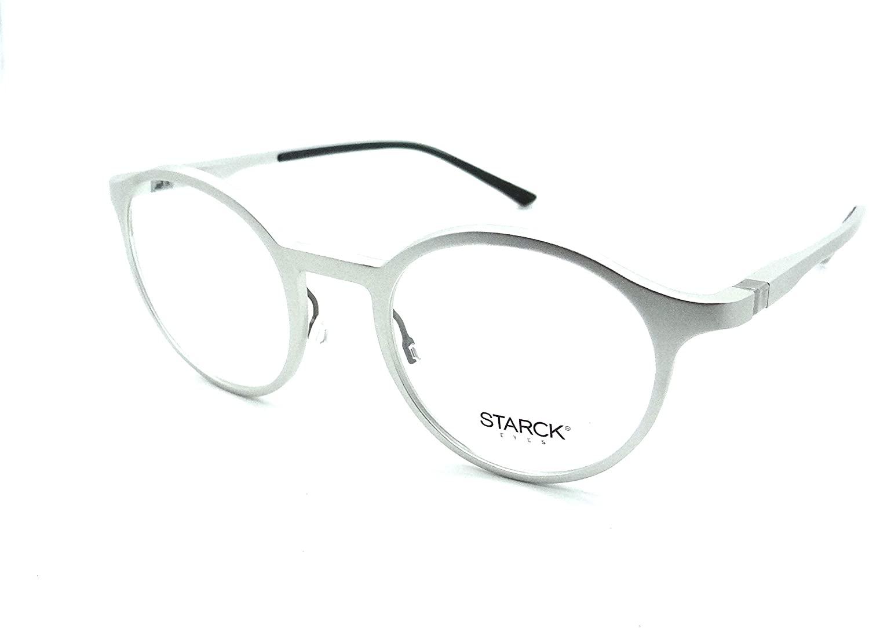 Starck Eyes Mikli Rx Eyeglasses Frames SH2032 0001 49-21-140 Aluminum Silver