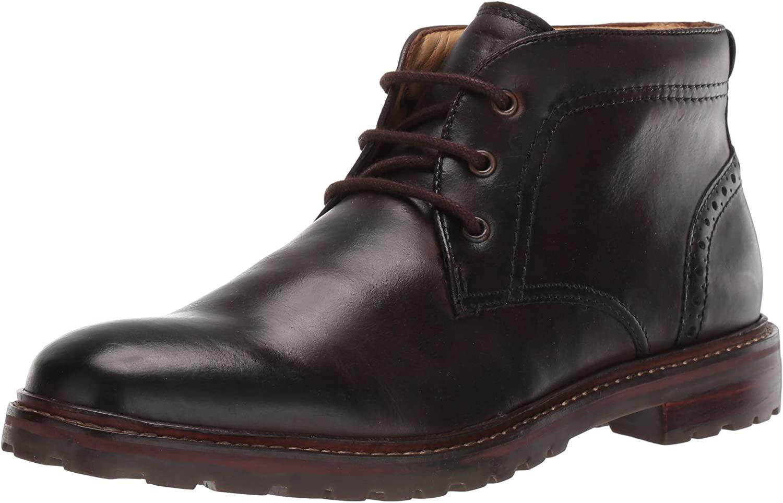 Florsheim Mens Estabrook Plain Toe Chukka Brown Boot - 9 D