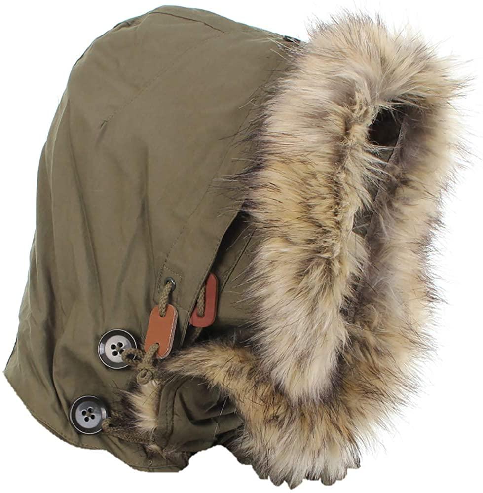 Mil-Tec US M51 Parka Hood with Faux Fur (Olive Drab)