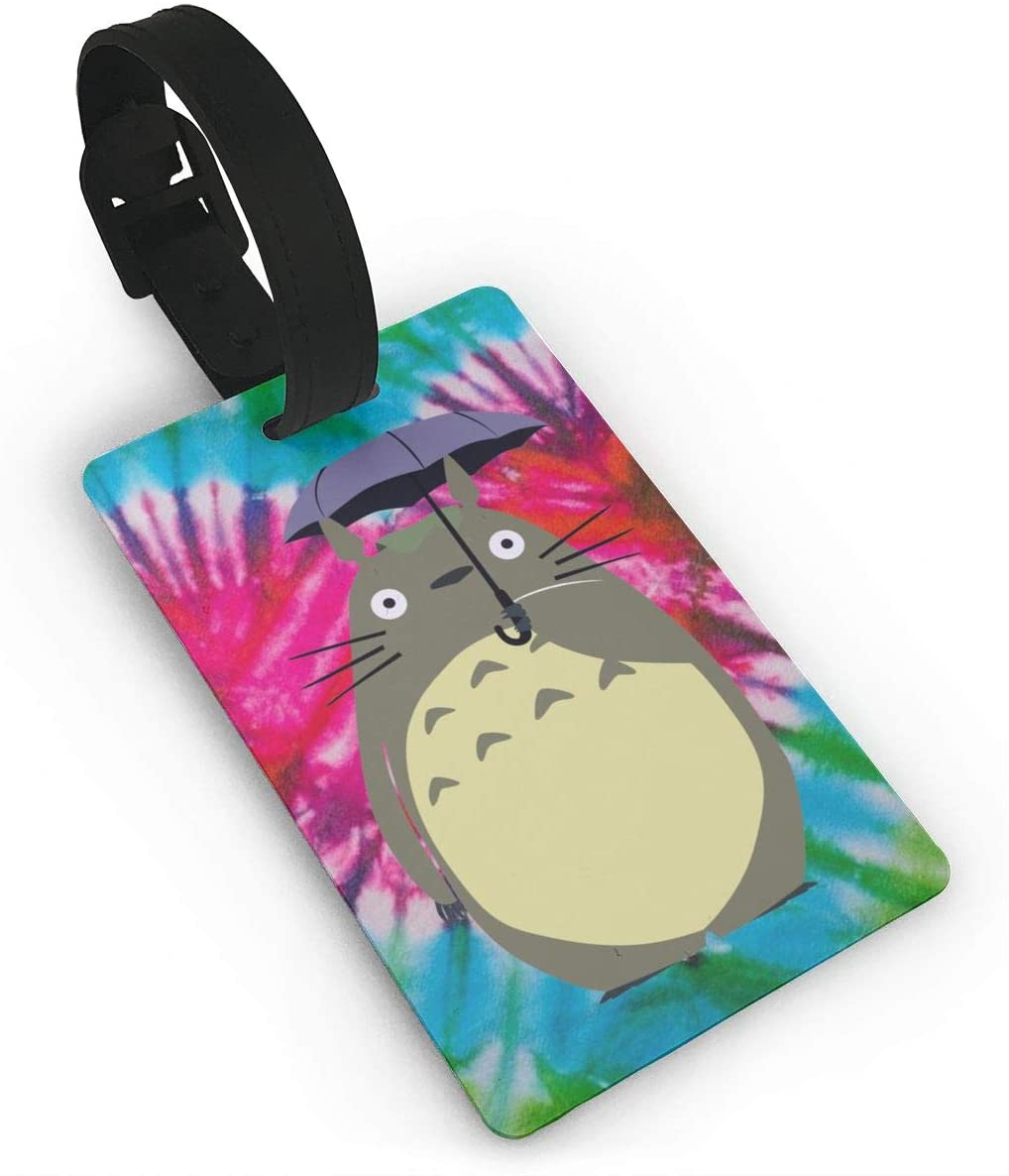 Totoro Luggage Id Tags Cruise Instrument Bag Case Suitcase Carry-On Cards Travel Accessories