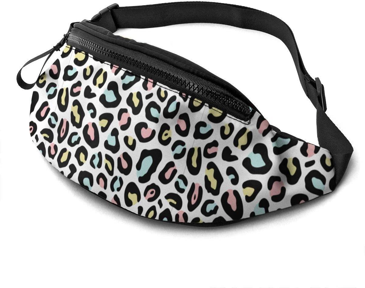 Leopard Skin Seamless Fanny Pack Fashion Waist Bag