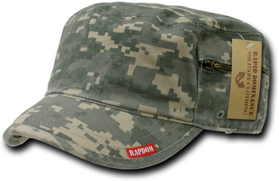 Rapiddominance Adjustable Patrol Cap with Zipper