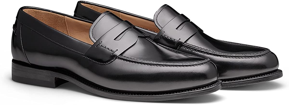 MORAL CODE The Brayson: Men's Premium Leather Penny Loafer Formal Dress Shoe