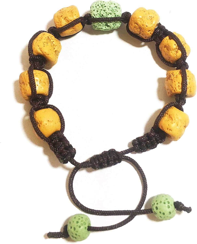 SEY Men Women 8mm Lava Rock Essential Oil Diffuser Bracelet Natural Stone Yoga Beads Bracelet Bangle Gift Halloween Party