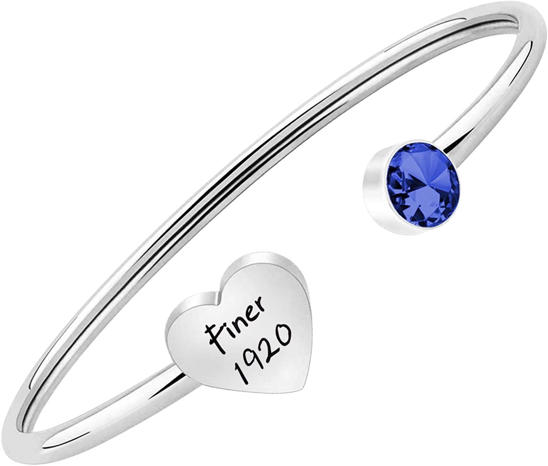 FUSTMW Finer 1920 Bracelet Zeta Phi Beta Sorority Paraphernalia Gift Sorority Jewelry Class Souvenir Gifts …