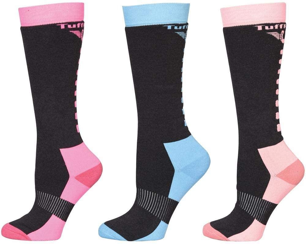 Tuffrider Winter Neon Socks