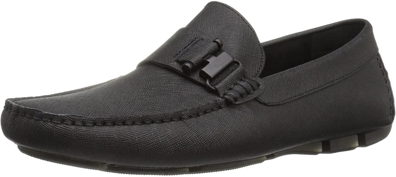 Kenneth Cole New York Men's in Theme Slip-On Loafer, Black, 7.5 M US