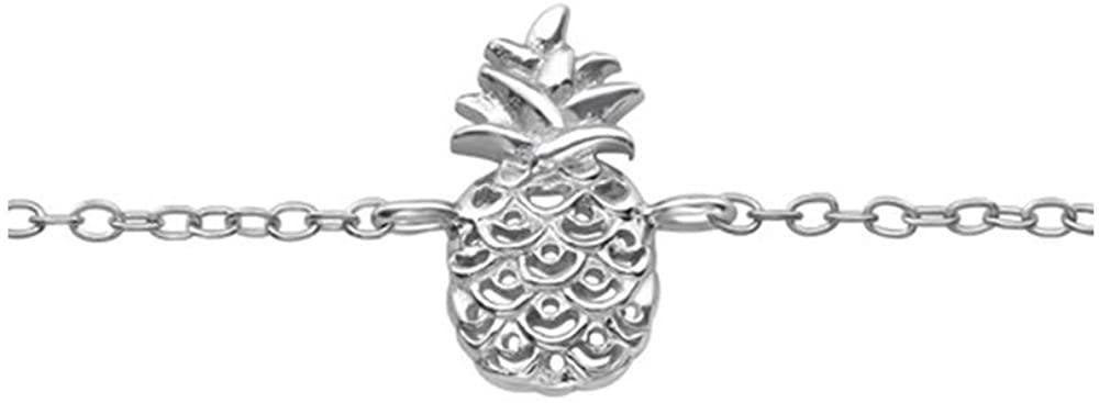 Caratera Pineapple Bracelets 925 Sterling Silver