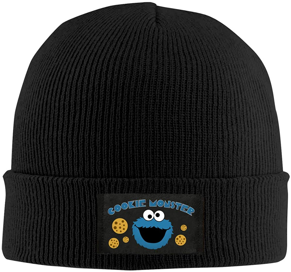 Monsters Who Love Cookies Knit Hat Winter Summer Cap Beanie Unisex Keep Warm and Windproof