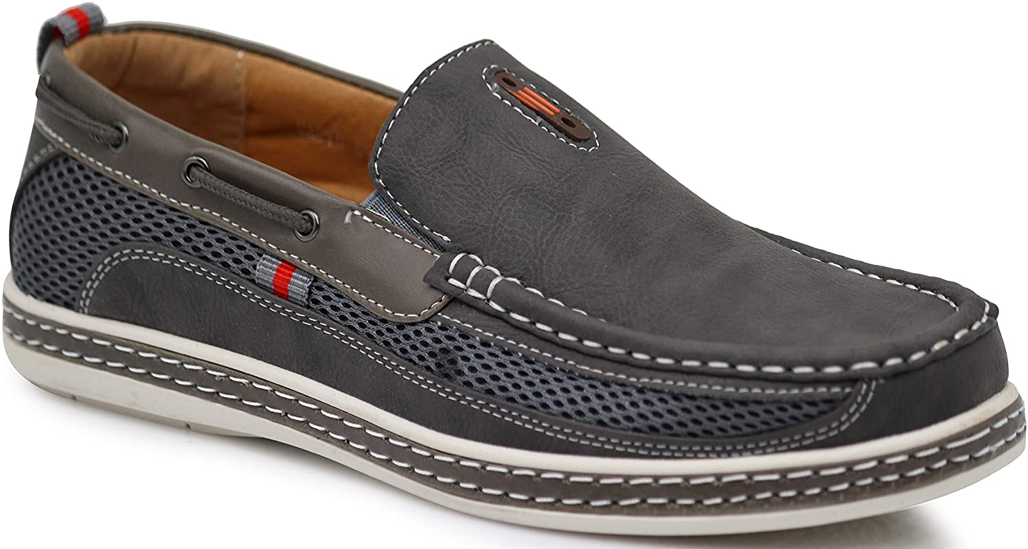 DC9N Men's Fall Summer Light Weight Casual Fit Classic Fashion Slip On Loafers Boat Shoes
