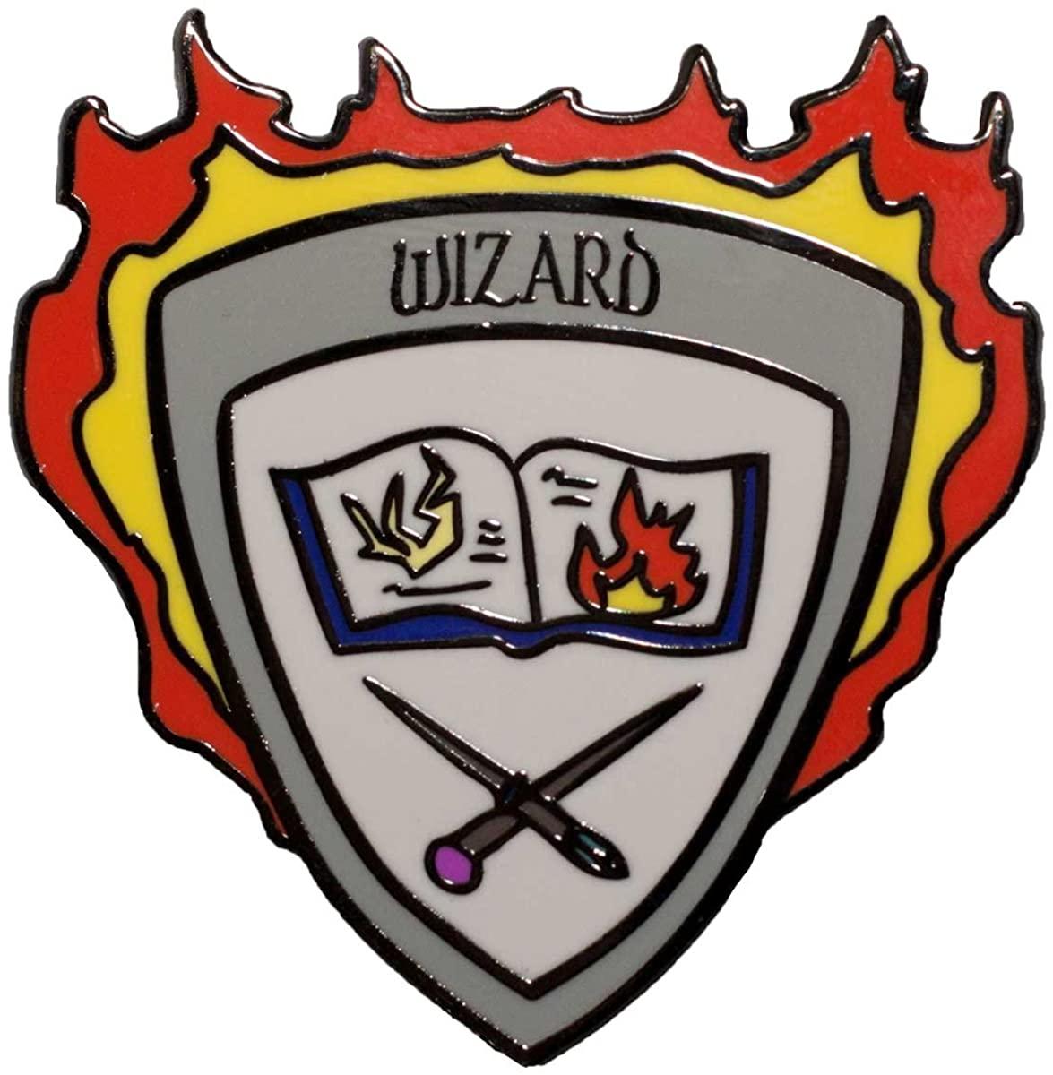 Dark Spark Decals Wizard Class Shield - 1.5