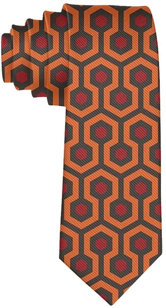 The Shining Overlook Hotel Formal Tie, Men Neckties Suit Accessories - Fashion Slim Party Suit Neckties