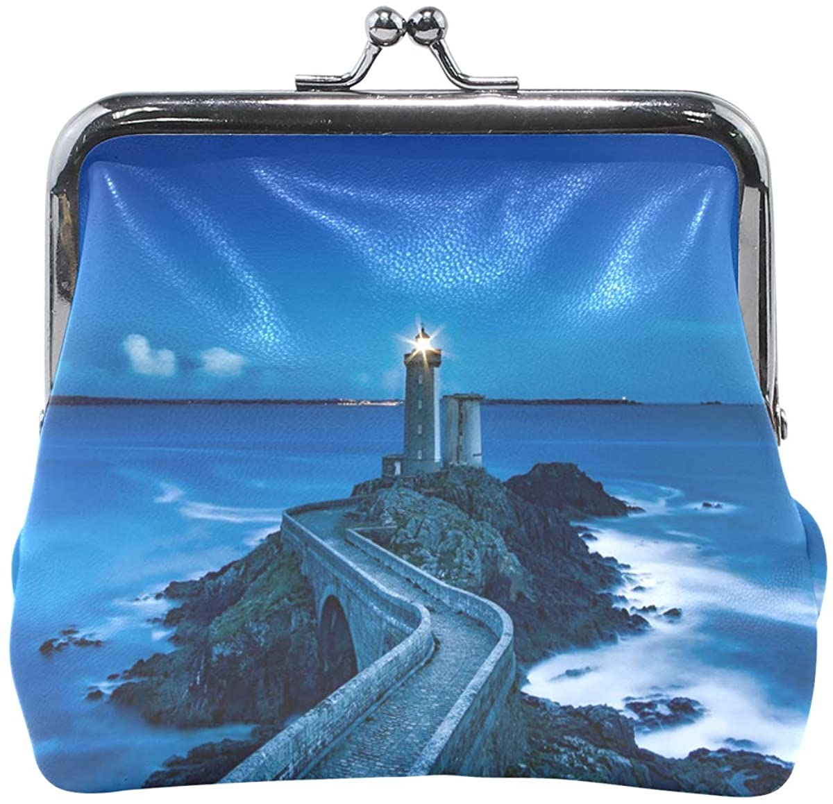 Ethel Ernest Lighthouse Coin Wallets Mini Purse for Womens Girls Ladies