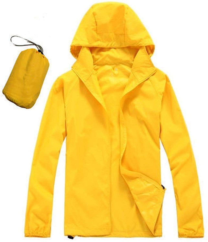 New Men's Quick Dry Skin Jackets Women Coats Ultra-Light Casual Windbreaker Waterproof Windproof