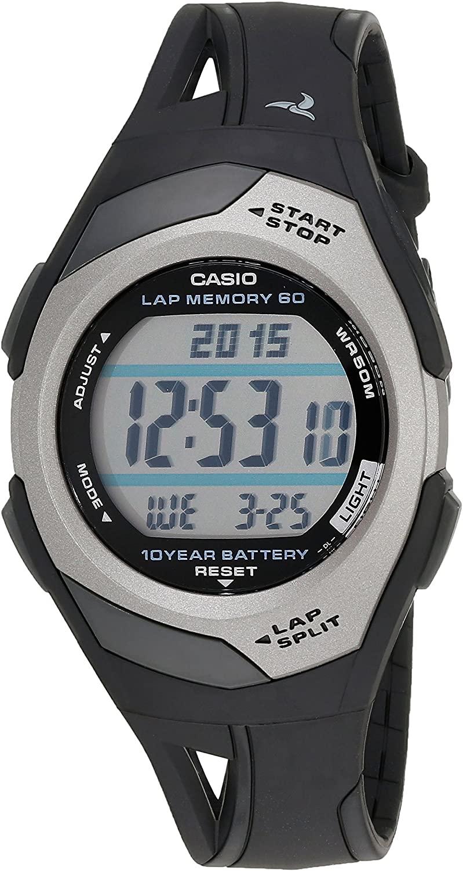 Casio STR300C-1V Sports Watch - Black