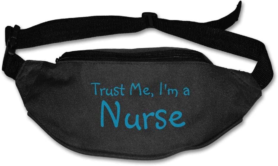 Eden Edies Trust I Am A Nurse Unisex Waist Pack Bag Belt