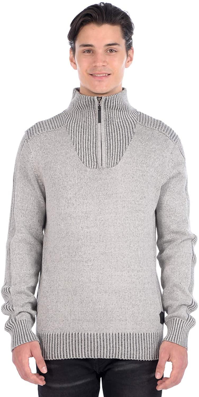 Projek Raw Men's 3/4 Zip Neck Sweater