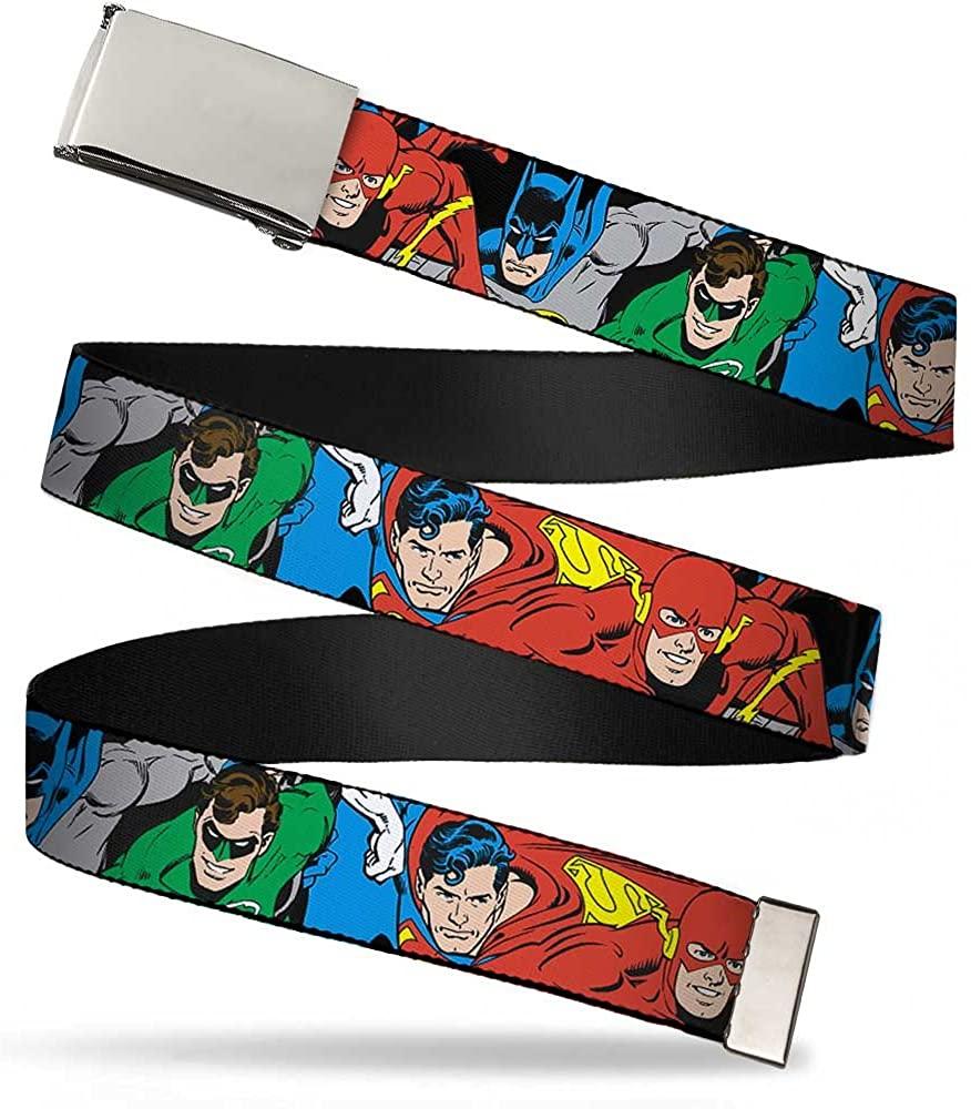Buckle-Down Web Belt Justice League 1.0
