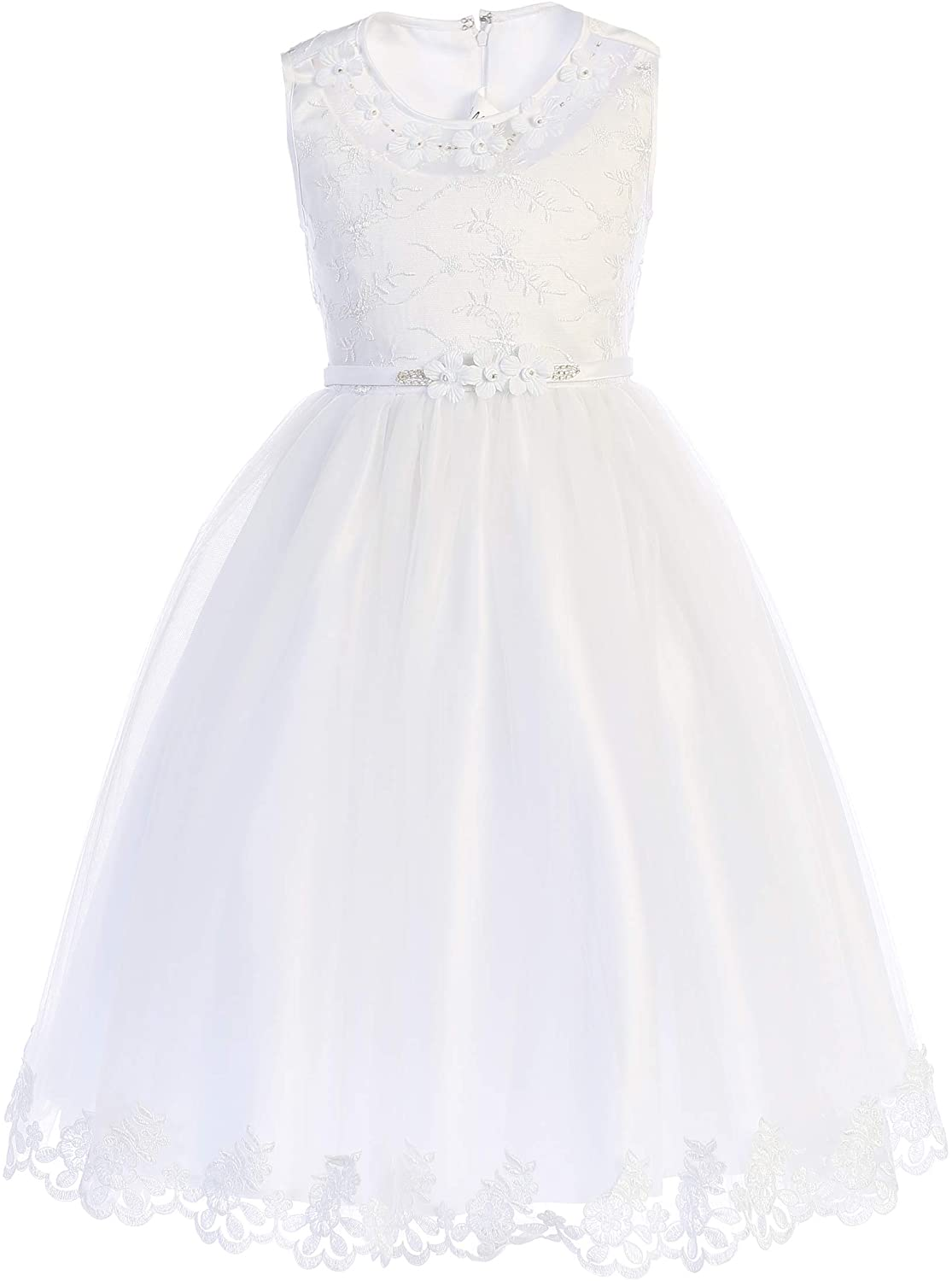 Swea Pea & Lilli First Communion Dresses for Girls Available in Girls 7-16 in White and Plus Size