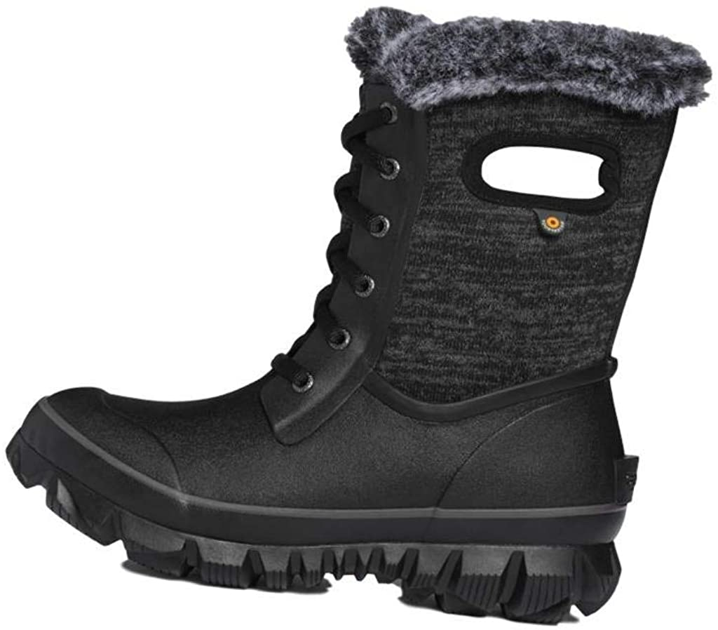 BOGS Women's Arcata Knit Waterproof Insulated Winter Snow Boot