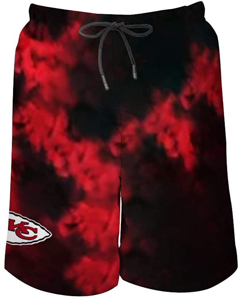 VF Men's Kansas City Chiefs Drawstring Beach Shorts