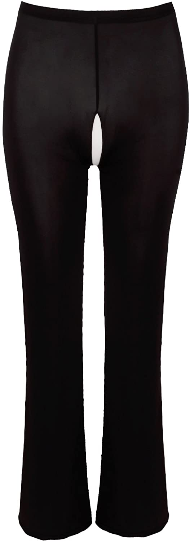 zdhoor Woman Sexy See-Through Sheer Long Pants Tights Leggings Bikini Swimsuits Cover ups
