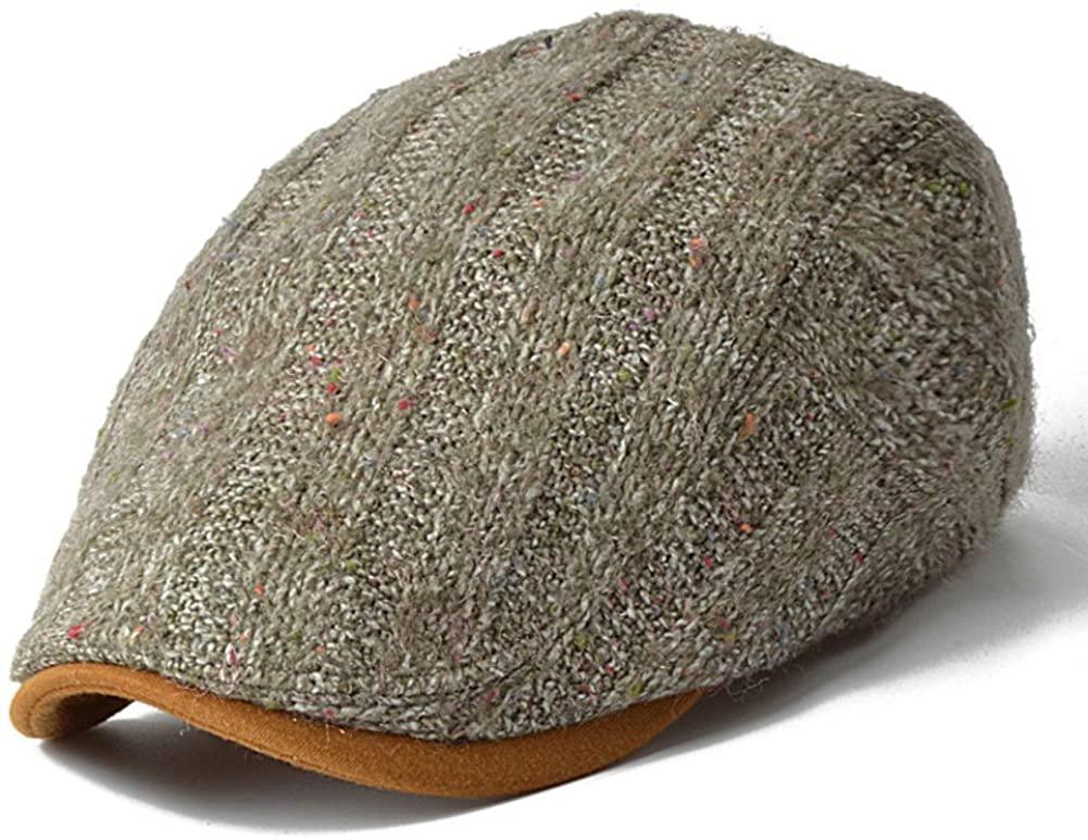 PLMWQAVDFN Hats for Women Autumn Cap Winter Mens hat Outdoor Wool Hats Winter Beret Painters' Cap