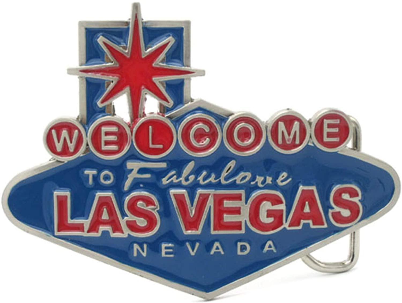 Welcome To Las Vegas Belt Buckle
