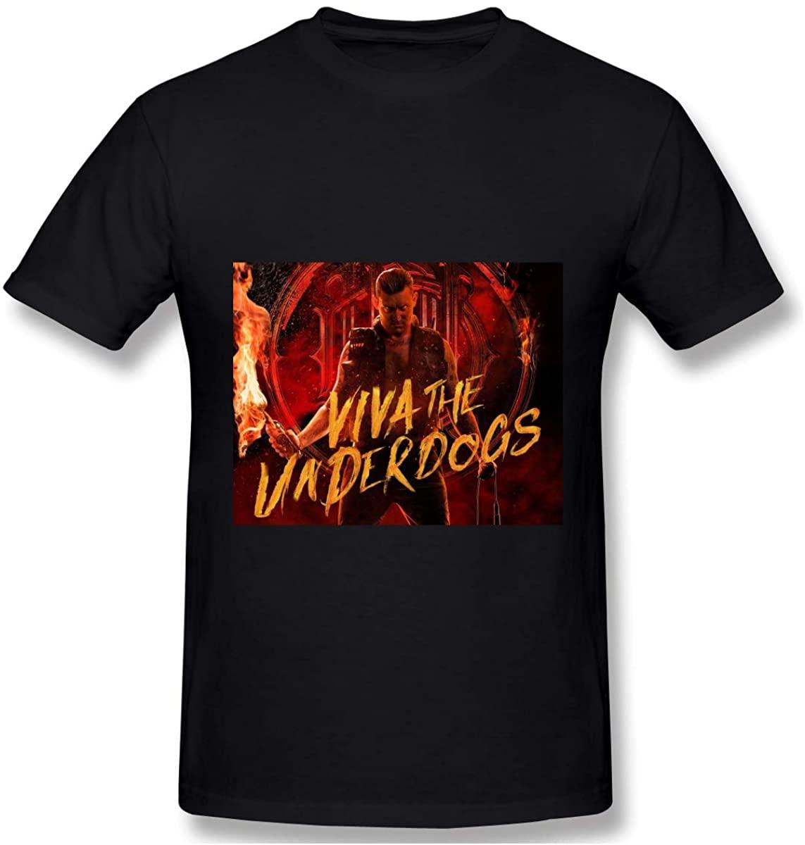 Hbokink Parkway Drive Mans Athletic Men's Cotton Short Sleeve T-Shirt Black